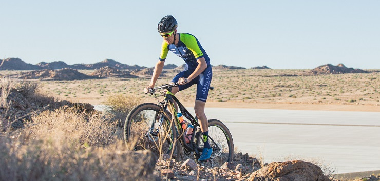 Darkhorse Wheels pro cyclist Timo Cooper is finding ways to balance his career and home life after becoming a father for the first time.