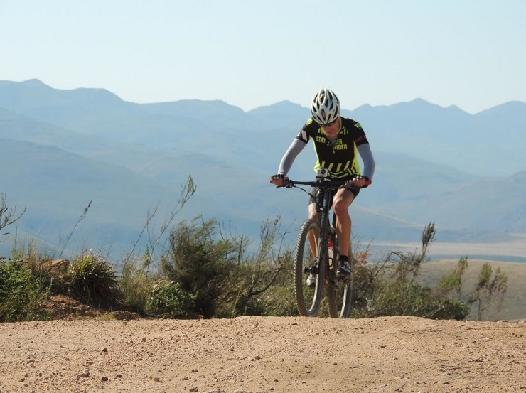 After the event was cancelled due to the coronavirus, Trans Elands MTB Marathon race director Leon Claasen tackled the 160km challenge alone on June 6.