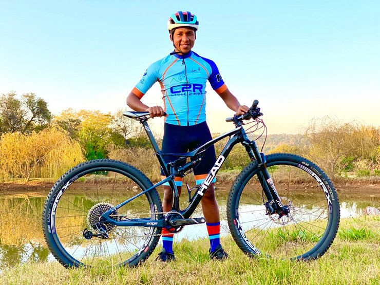 National mountain biker Phillimon Sebona has taken on a new role as manager and ambassador for the C2R team.