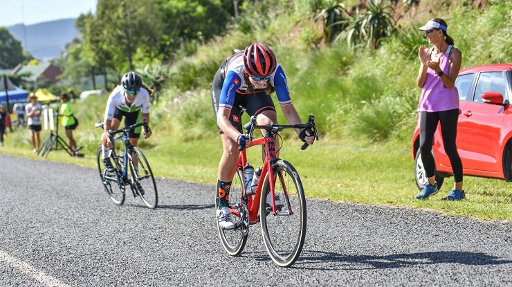 Even though it will be a virtual race, Tiffany Keep is enthusiastic about racing the Tour Durban.